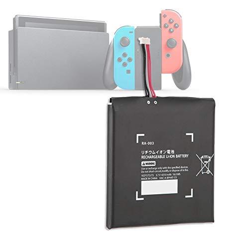 Tangxi para Nintendo Switch Battery Pack, Game Console 4310mAh Kit de Repuesto de Batería Interna para Nintendo Switch con 2 Destornilladores