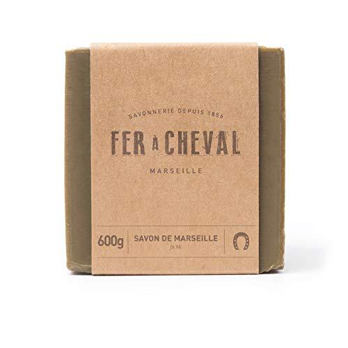 Fer à Cheval - Véritable Savon de Marseille à l'huile d'olive - Cube 600g