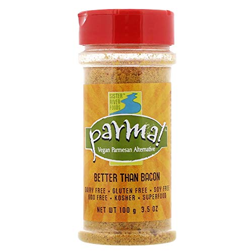 Parma! Vegan Parmesan - Better than Bacon, Dairy-Free and Gluten-Free Vegan Cheese (3.5 Ounces)