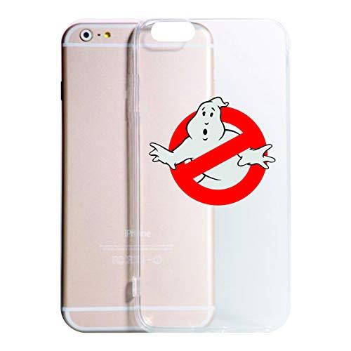 Vestin Cover Compatibile con Tutti i Modelli iPhone -Ghostbusters- Trasparente UltraSottili AntiGraffio Antiurto Case Custodia (iPhone 6, Trasparente)