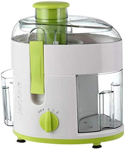 GQ-HOME Kleine Haushaltssaftpresse Personal Mixer Fruchthydrophobe Rückstandstrennung 18000 U/Min 500W 400 Ml