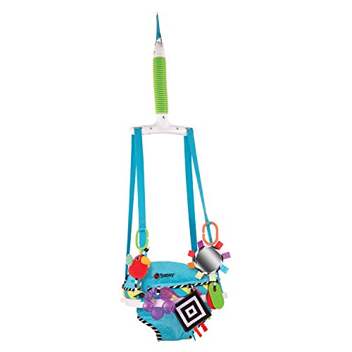 Best Prices! Sassy Inspire The Senses Doorway Jumper with Removable Toys