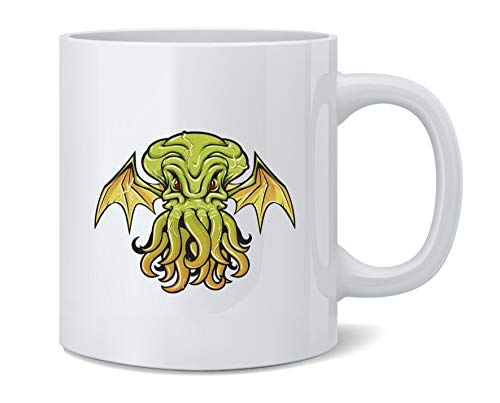 Poster Foundry Cthulhu Monster Halloween Lovecraft Ceramic Coffee Mug Tea Cup Fun Novelty Gift 12 oz