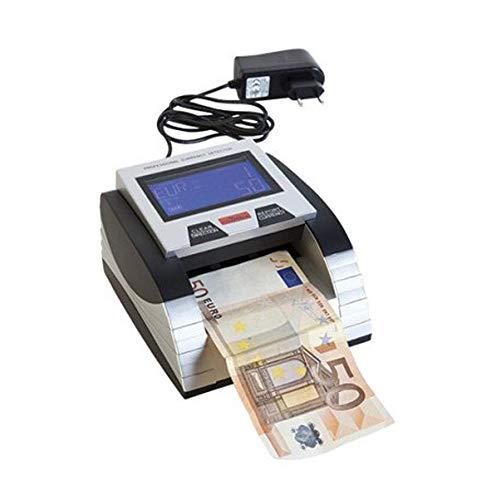 Verifica Banconote Professionale con Cavo di Aggiornamento per Valute Euro Banchi Cassa Soldi Controllo Sicurezza