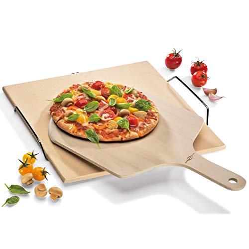 Küchenprofi 8650 10 00 Pelle à Pizza 45x29x1cm en Bois, Brun, 45 x 30 x 1 cm