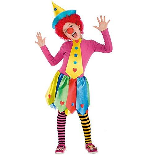 Costume de Clown Enfant de 3 à 6 ans - Deguisement Carnaval Fete - 673