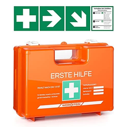 Werkstein -  Erste Hilfe Kasten