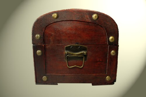 Schatzkiste Piratentruhe Geschenk Box Kasten Größe 34x24x21 - 4