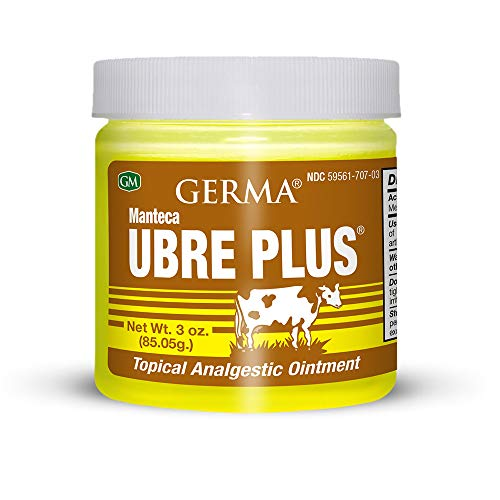 Germa Manteca Ubre Plus with Tea Tree Oil 3 oz. Jar