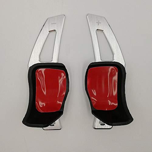 YXSMBP Auto stuurwiel DSG Shift Paddle extensie shifters sticker, voor Volkswagen Tiguan Golf 6 MK6 Jetta GTI R20 R36 CC Scirocco EOS | schakelpaddles | lichtmetalen stuur Auto's