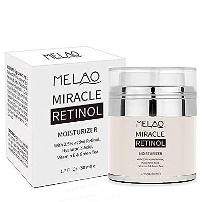 Retinol Moisturizer Cream,UWIME Anti Aging Majestic Pure Retinol Cream for Face and Eye- 2.5% Retinol, Hyaluronic Acid, Vitamin E and Jojoba Oil from Elezenioc