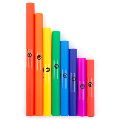 Mad About Juego de tubos de percusión ajustados C Major Diatonic Scale, 8 notas