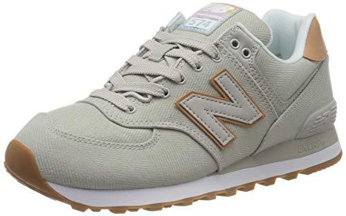 New Balance Damen 574v2 Sneaker, Grau (Grey Scc), 41 EU
