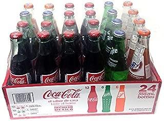 Coca Cola, Sprite, Fanta 12oz Glass Bottle (Pack of 24) Hecho En Mexico!