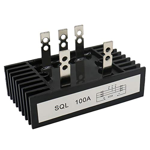 Heschen 3-Phasen-Brückengleichrichter sql-100 A, Diodenmodul 100 A, 5 Klemmen
