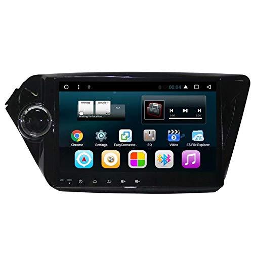 TOPNAVI 9 Pouces 32 Go Android 7.1 Quad Core Auto Radio pour Kia K2 2011 2012 2013 2014 2015 2016 Stéréo GPS Navigation WiFi 3G RDS Lien Miroir FM AM BT