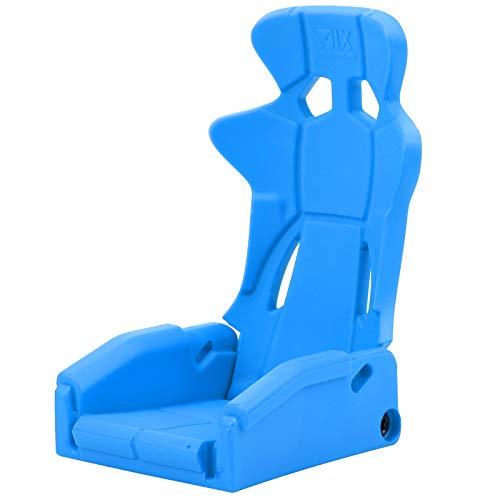 SALUTUYA 1/10 siège de Conduite RC Haute fiabilité siège de Conduite RC Durable réaliste pour Voiture TRX4 1/10 RC(Blue)