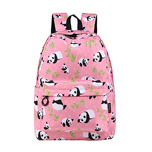 UNILIFE Mochila Infantil Impresa Mochila Panda Mochilas Escolares Impermeables para Niñas y Niños De Secundaria 17 L