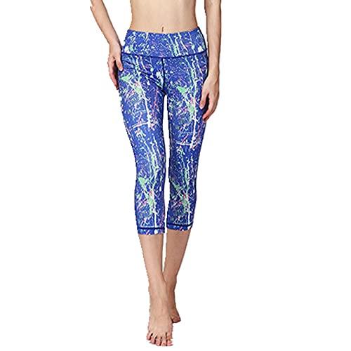 N\P Verano Señoras Casual Pantalones Cómodo Yoga Fitness Ejercicio