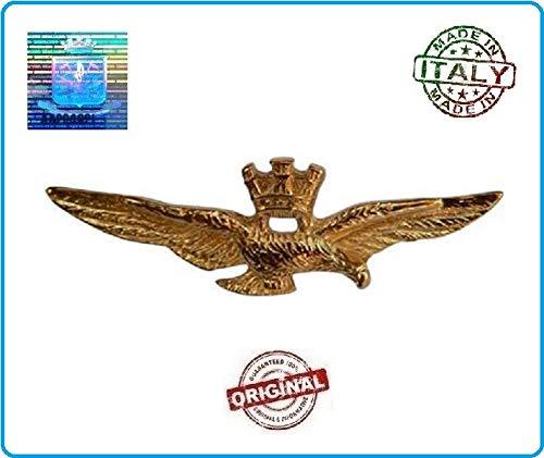 GS1 Patent Pilota Militare Pilot Wings Aeronautica Military Offizielles Produkt Art.BREV-AM2