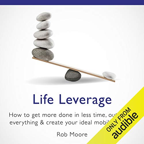 Life Leverage audiobook cover art