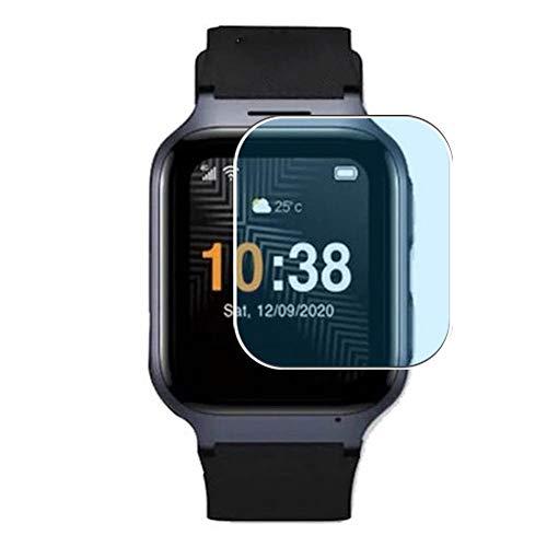 Vaxson 3 Stück Anti Blaulicht Schutzfolie, kompatibel mit TCL MoveTime smart watch Smartwatch, Displayschutzfolie Anti Blue Light [nicht Panzerglas]