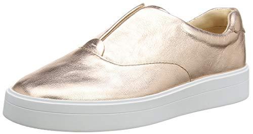 Clarks Damen Hero Step. Slip On Sneaker, Gold (Rose Gold Rose Gold), 39 EU