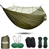 SIHOHAN Camping Hammock with Mosquito Net, Double Hammocks with...