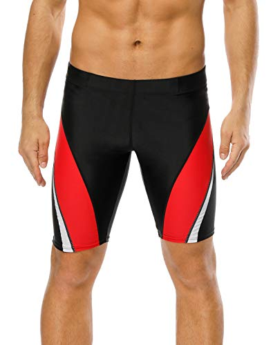 belamo Competition Short Jammer Swimming Suits Speed Bathing Suits for Men 34