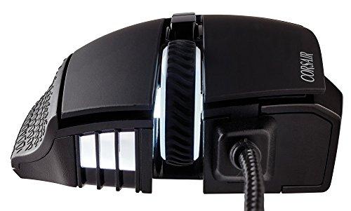 CorsairSCIMITARPRORGB-Black-オプティカルゲーミングマウスMS295CH-9304111-AP