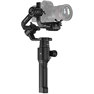 DJI Ronin-S - Camera Stabilizer 3-Axis Gimbal Handheld for DSLR Mirrorless Cameras up to 8lbs / 3.6kg Payload for Sony Nikon Canon Panasonic Lumix, Black (B07D519QXH) | Amazon price tracker / tracking, Amazon price history charts, Amazon price watches, Amazon price drop alerts