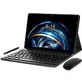 Tablet 10 Pulgadas Android 10.0 - YUMKEM Tableta 4GB RAM 64GB ROM 1.6 GHz | WiFi | Bluetooth | GPS | Teclado Bluetooth | ratón...