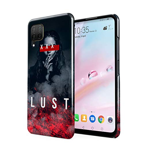 XXX Lust Smoking Sexy Model Girl Swag Dope Hard Thin Plastic Phone Case Cover For Huawei P40 Lite
