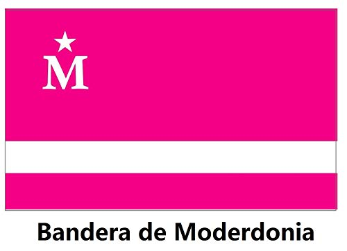 Durabol Bandera de Moderdonia 150 X 90 CM Flag