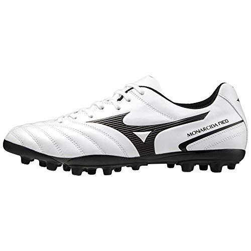 Mizuno Men's Monarcida Ii Sel Ag Soccer Shoe, White Black, 11