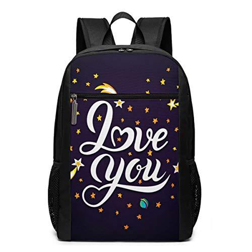 Schulrucksack Er Sternschnuppen Planeten, Schultaschen Teenager Rucksack Schultasche Schulrucksäcke Backpack für Damen Herren Junge Mädchen 15,6 Zoll Notebook