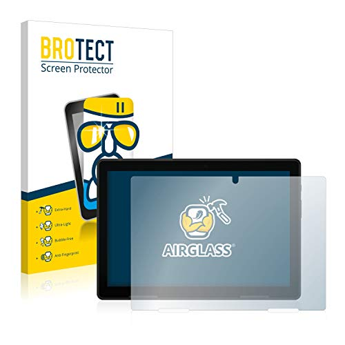BROTECT Panzerglas Schutzfolie kompatibel mit Medion Lifetab E10802-9H Extrem Kratzfest, Anti-Fingerprint, Ultra-Transparent
