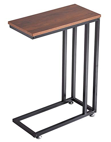 Loglus Side Table/End Table Multipurpose Table for Living Room, Office, Easy Assembly (Top Board)