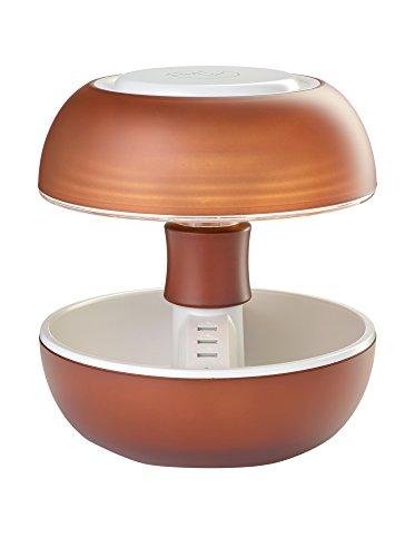 Joyo Tischlampe LED Lightcolors Bluetooth hellbraun