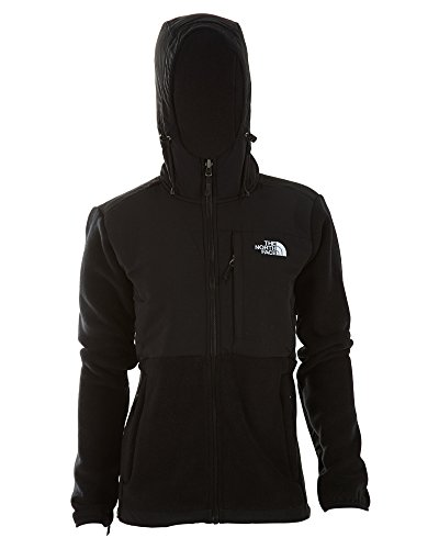 The North Face Womens Denali Hoodie Jacket Black Size Small
