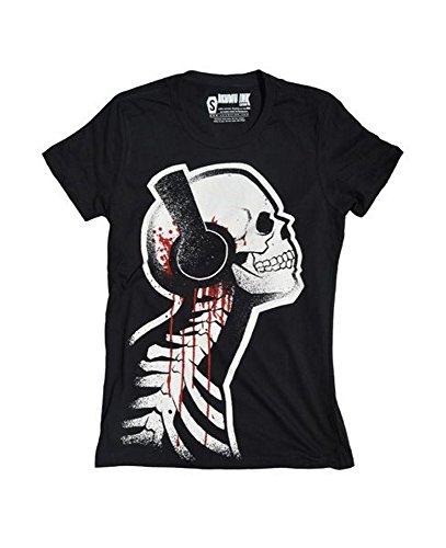 Herren Tattoo T-Shirt Akumu Ink Schwarz Tone Death S-XL
