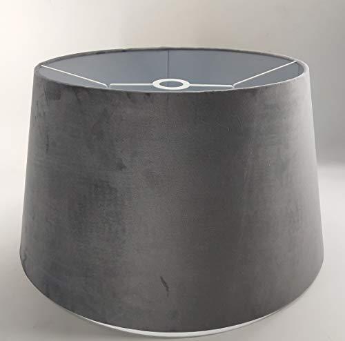 Designer-Lampenschirm-graphit-samt-rund-konische Form Ø 50cm (40 * 50 * 28cm)