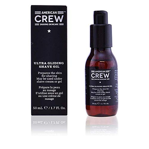 AMERICAN CREW ULTRA GLIDING SHAVE OIL Rasurvorbereitendes Öl, 1er Pack (1 x 50 ml)