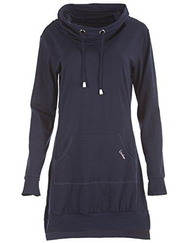 Winshape Wk1 nonchalante mini-jurk voor dames, met coole kango-tas, street style, sport en vrije tijd