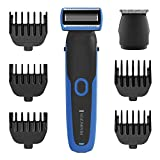 Remington Lithium Power WETech Face & Body Groomer Kit, 6 pc, PG6255