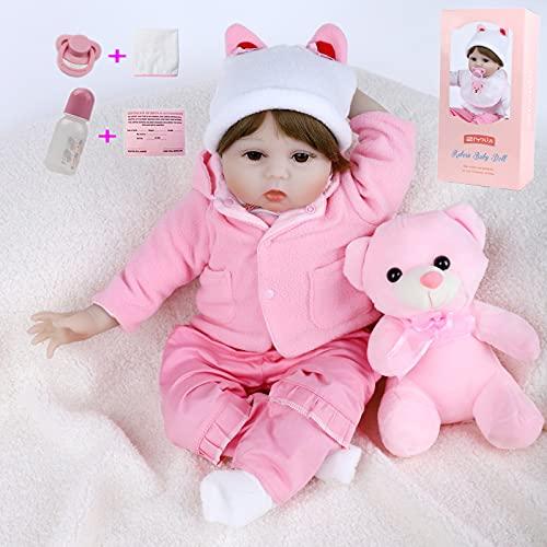 ZIYIUI Reborn Baby Doll Bebés 22...