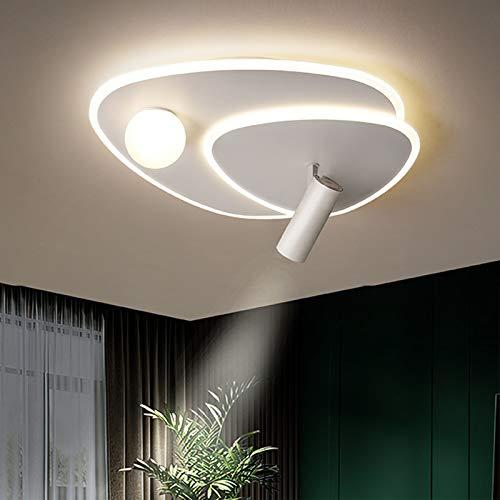 Lámpara De Techo LED Moderna con Foco, Iluminación De Techo Regulable por Control Remoto para Dormitorio, Sala De Estar, Accesorios para El Hogar,Diameter 61cm/24in