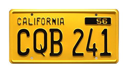 Stephen King's Christine | '58 Plymouth Fury | CQB 241 | Metal Stamped Vanity Prop License Plate