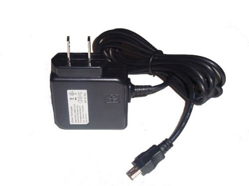 Gilsson Ac Wall Power Charger Cable for Garmin Nuvi 1450 1490 1390 1370 1350 1300 1690 1695 2460 2450 2370 2360 2350 2300 2250 1200 1250 1260 100 200 205 250 255 260 265 275 285 295 350 465 765 855 GPS (Compatible with All W Wt T Lm Lt LMT Models)