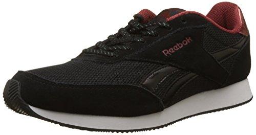 Reebok Damen Royal Classic Jogger 2 Sneaker, Schwarz (Black/rust Met/white), 40.5 EU